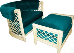 Basic Photoshop used to try a different color on this JD Originals Chair and Ottoman.