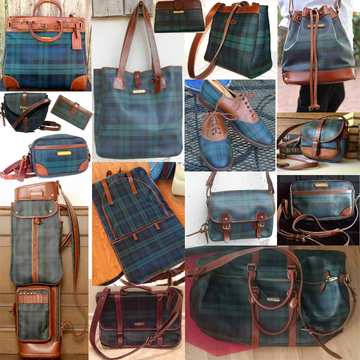 c4b27a454bc To Sell Or Not To Sell Ralph Lauren s Blackwatch Bag – That Is The ...
