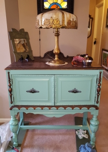 $15 Antique Buffet Facelift in Action - Options 1-17