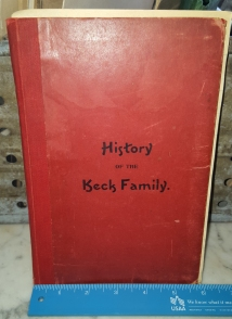 History of the Keck Family, J.A. Keck, 1901