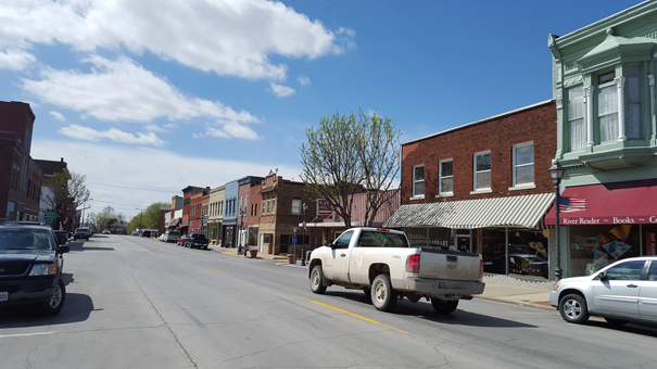 Downtown Lexington Missouri