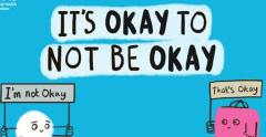 Its ok to not be ok morning day cafe mental health monday