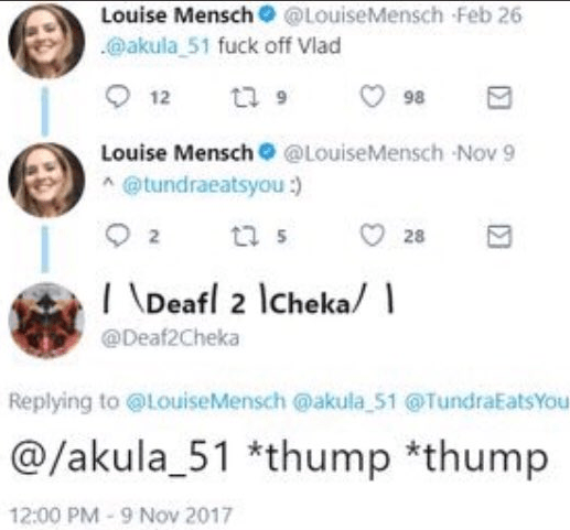 Louise Thump Thump Deaf2cheka tundra